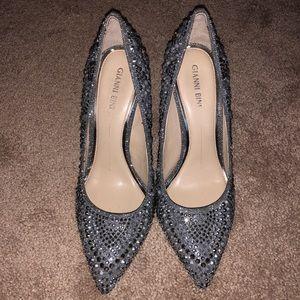 Gianni Bini Grey/Silver Heels Size 9